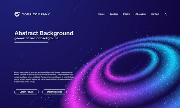 Abstrakter hintergrund für ihre landing page oder website-design.