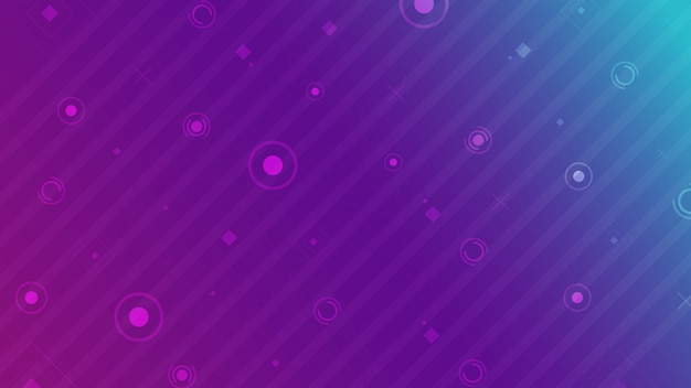 Abstrakter hintergrund grundlegend geometrisch auf buntem neonhintergrund