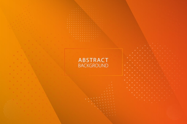 Abstrakter hintergrund im modernen design. vektor orange abstrakte hintergrundtextur-design. vektor-illustration.
