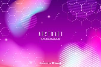 Abstrakter Hintergrund in den purpurroten Tönen
