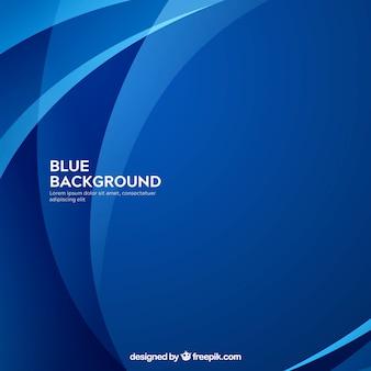 Abstrakter hintergrund in der blauen farbe