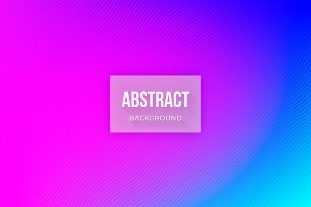 Abstrakter hintergrund in neonfarben