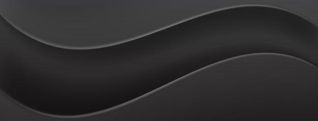 Abstrakter hintergrund in schwarzen farben