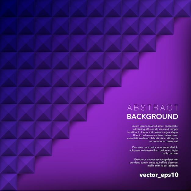 Abstrakter hintergrund. lila geometrischer hintergrund.