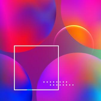 Abstrakter hintergrund. minimaler geometrischer entwurf.