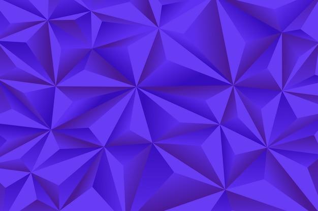 Abstrakter hintergrund mit blauen polygonen 3d