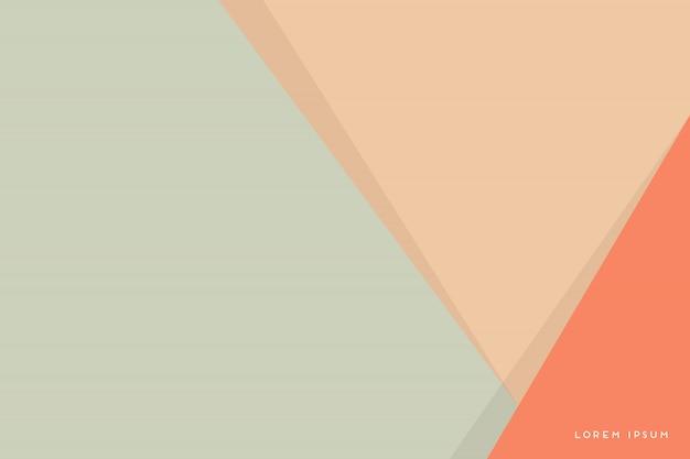 Abstrakter hintergrund mit bunten dreiecken