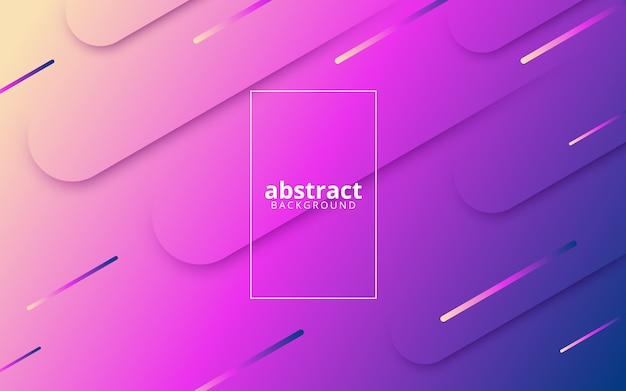 Abstrakter hintergrund mit diagonalen dynamischen linien