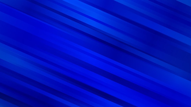 Abstrakter hintergrund mit diagonalen linien in blauen farben