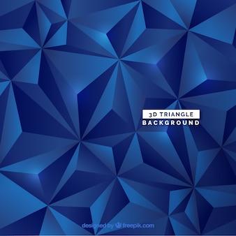 Abstrakter Hintergrund mit Dreiecken 3d