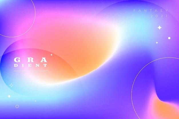 Abstrakter hintergrund mit dynamischem farbverlauf