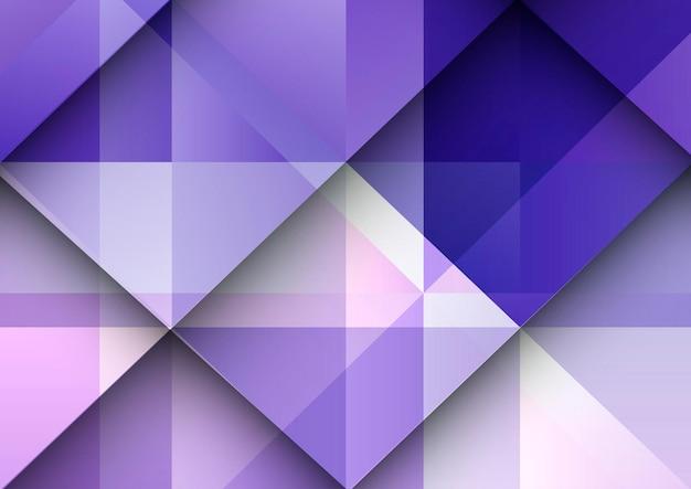Abstrakter hintergrund mit einem geometrischen gradientendesign