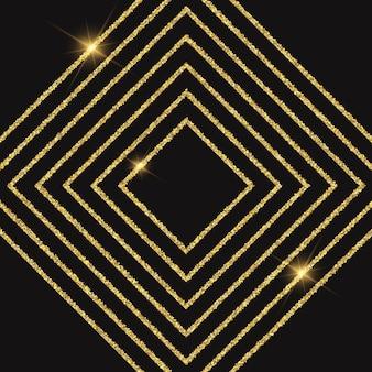 Abstrakter hintergrund mit einem glitzernden diamantentwurf