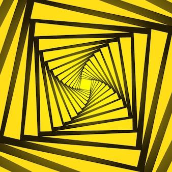 Abstrakter hintergrund mit einem optischen täuschungsentwurf