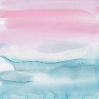 Abstrakter hintergrund mit einer ausführlichen aquarellbeschaffenheit