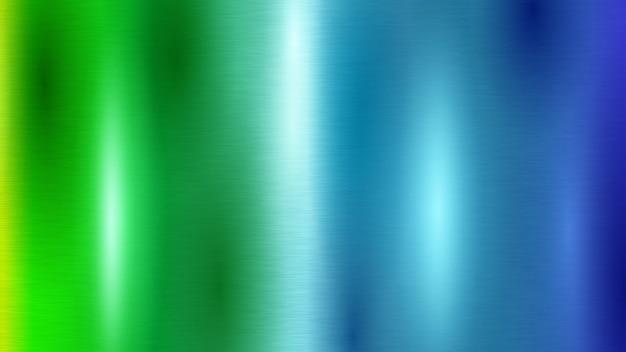 Abstrakter hintergrund mit farbiger metallstruktur