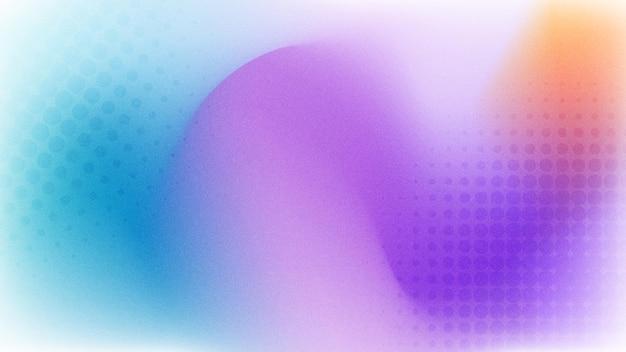 Abstrakter hintergrund mit farbverlauf mit körniger textur