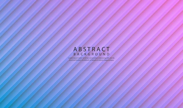 Abstrakter hintergrund mit geometrischem stil, überlappungsschicht mit diagonalen streifen