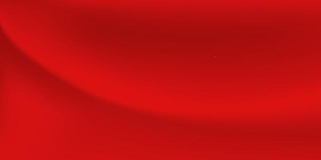 Abstrakter hintergrund mit gewellter oberfläche in roten farben