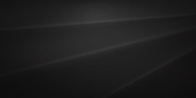 Abstrakter hintergrund mit gewellter oberfläche in schwarzen und grauen farben