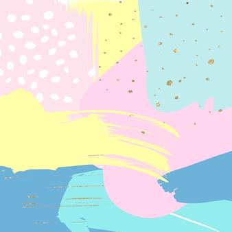 Abstrakter hintergrund mit goldfunkeln
