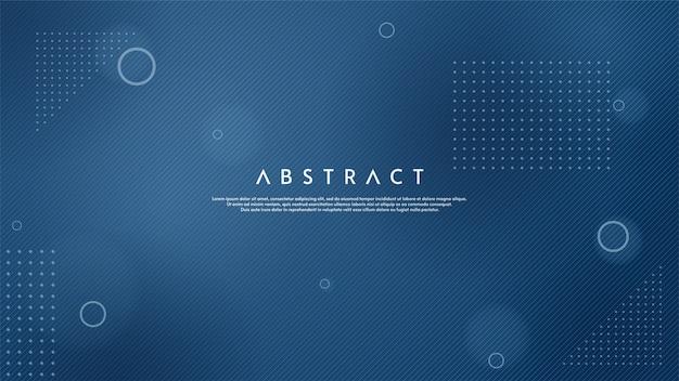 Abstrakter hintergrund mit illustration der dünnen blauen linien.