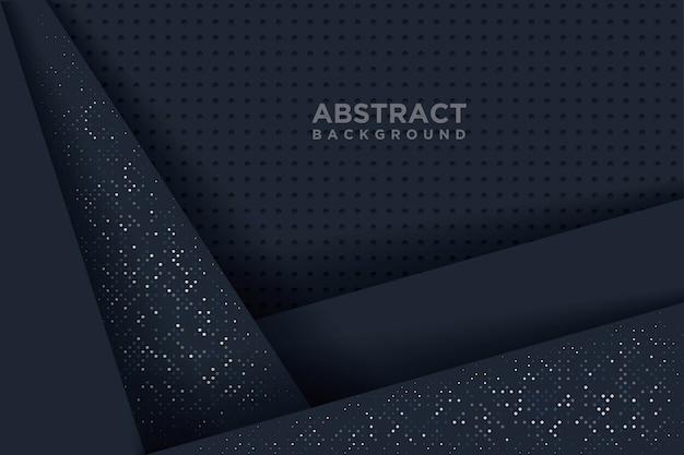 Abstrakter hintergrund mit kunstart des papiers 3d.
