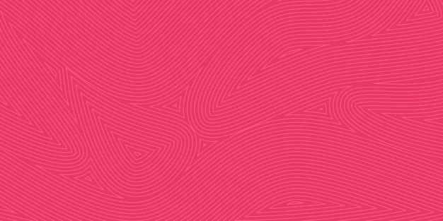 Abstrakter hintergrund mit linienmustern in roten farben