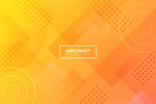 Abstrakter hintergrund mit orange formen