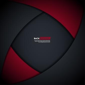 Abstrakter hintergrund mit rotem ineinander greifenhintergrund