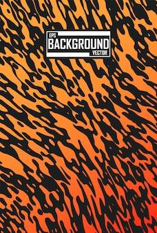 Abstrakter hintergrund mit tigermuster