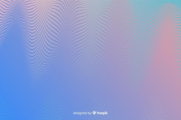 Abstrakter hintergrund mit vibrierendem halbtoneffekt