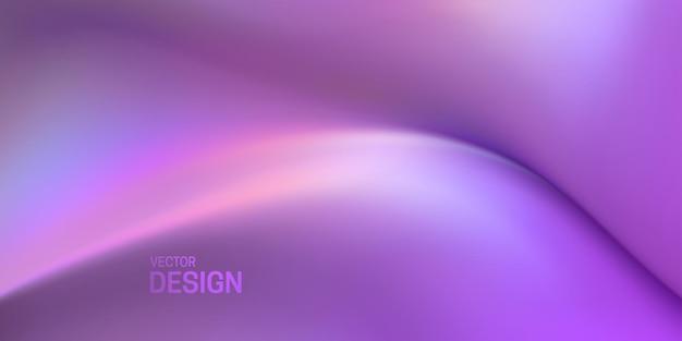 Abstrakter hintergrund mit weicher lila viskoser substanz