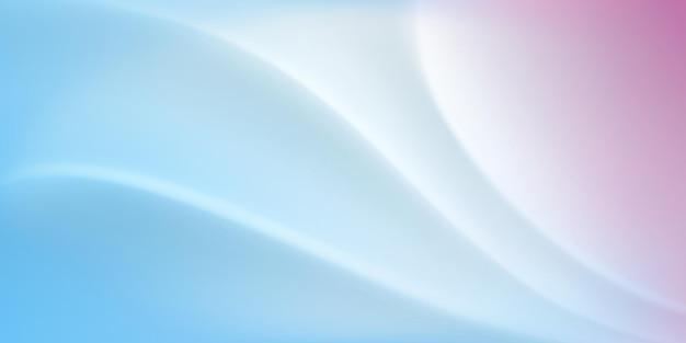 Abstrakter hintergrund mit welliger oberfläche in weißen und hellblauen farben