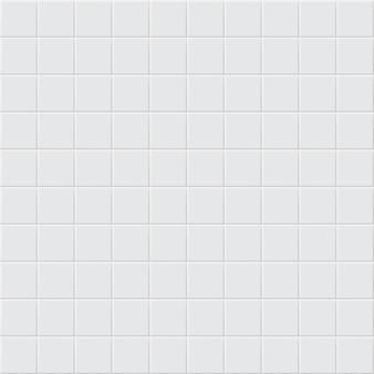 Abstrakter hintergrund oder nahtloses muster von fliesen in weißen farben