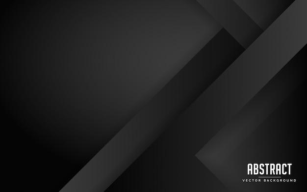 Abstrakter hintergrund schwarze und graue farbe modern