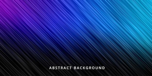 Abstrakter hintergrund. streifenlinienmustertapete in der schwarzen blauen farbe
