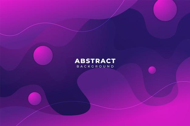 Abstrakter hintergrund überlappte form soft gradient glow purple blue
