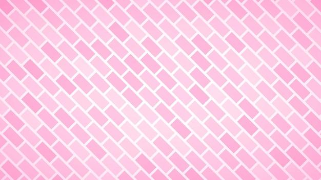 Abstrakter hintergrund von diagonal angeordneten rechtecken in rosa farben