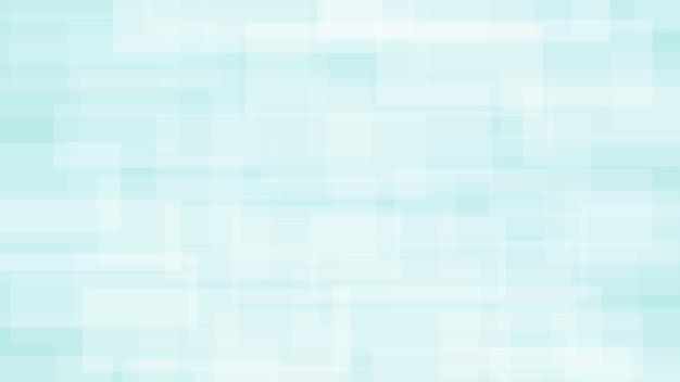 Abstrakter hintergrund von durchscheinenden rechtecken in weißen und hellblauen farben