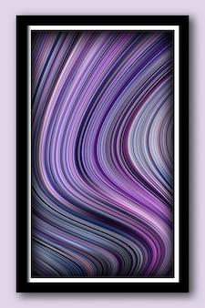 Abstrakter hintergrund von flüssigen farben und marmorflüssigkeitstexturen für druck- und webdesign