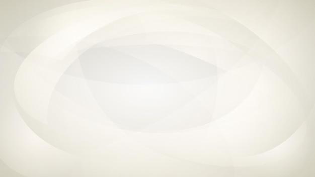 Abstrakter hintergrund von geschwungenen linien in weißen farben