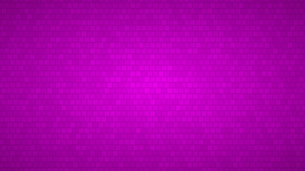 Abstrakter hintergrund von kleinen quadraten in den schattierungen von violetten farben
