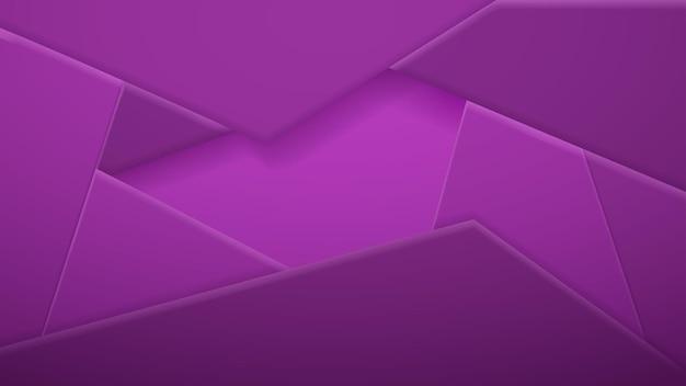 Abstrakter hintergrund von polygonalen fliesen in lila farben