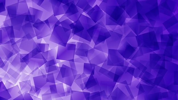 Abstrakter hintergrund von quadraten in lila farben