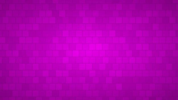 Abstrakter hintergrund von quadraten in violetten farben