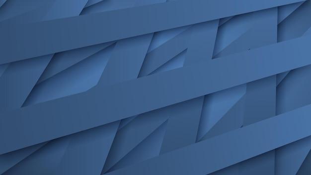 Abstrakter hintergrund von verwobenen hellblauen streifen mit schatten