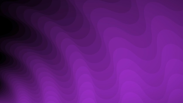 Abstrakter hintergrund von wellenlinien in violetttönen