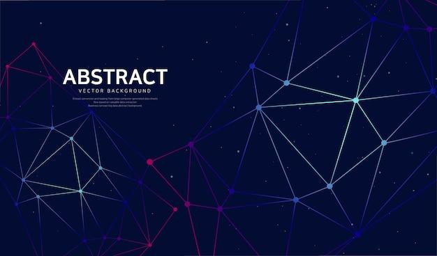 Abstrakter hintergrund zur netzwerkaktivierung