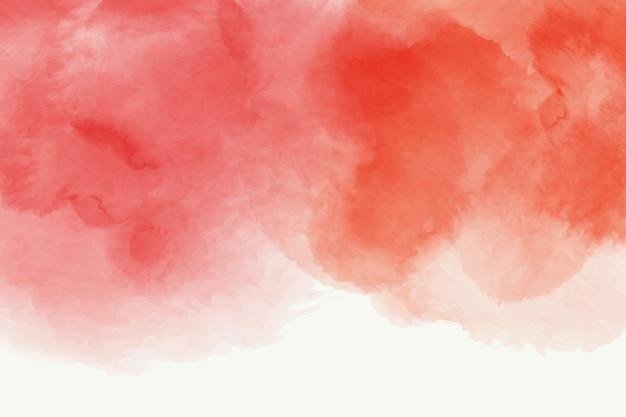 Abstrakter hintergrundentwurf des roten aquarells